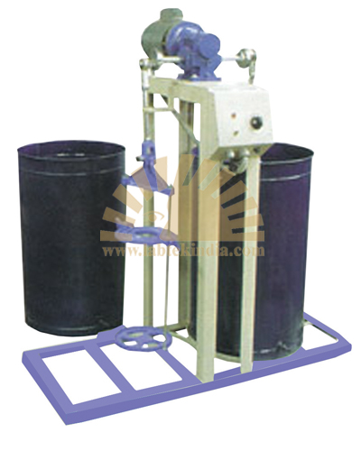 Wet Sieve Shaker, Hand Operated